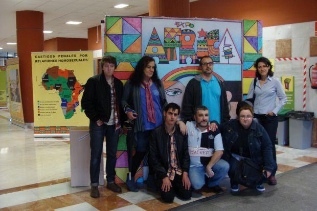 Varios de los integrantes de la Fundación Triángulo Castilla y León. © Fotografía: L. Fraile.