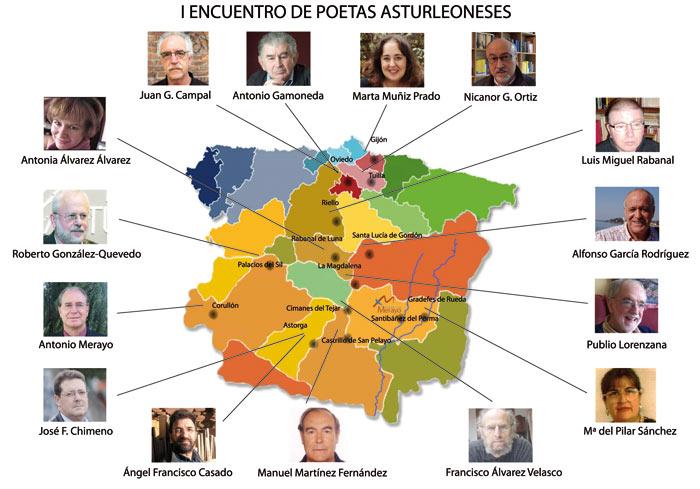 15 poetas arturleoneses.