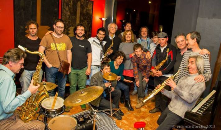Los músicos de Jaula 13. © Fotografía: Vicente García.