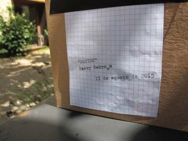PATIOS (4). 11 de agosto. Heavy Bedroom. Jardín trasero del COAL.