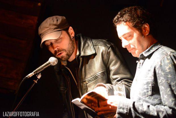 Antoine Lamarck y Jorge M. Molinero. © Fotografía: Jorge Lázaro.