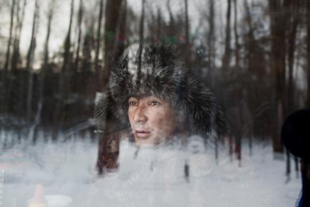 : Kostya, el cazador (días antes de morir apuñalado). Álvaro Laiz.