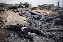 Jihadist's corpses