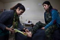 Hospital in Kobane