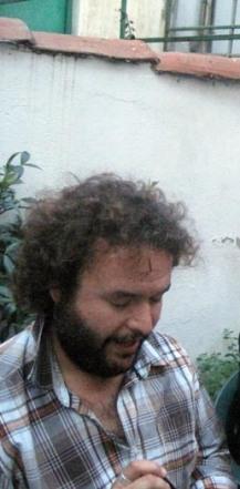 Patios (2). Carlos Ordás, el cronista. © Fotografía: Eloísa Otero.