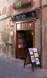 Café Ékole, en el barrio romántico leonés.