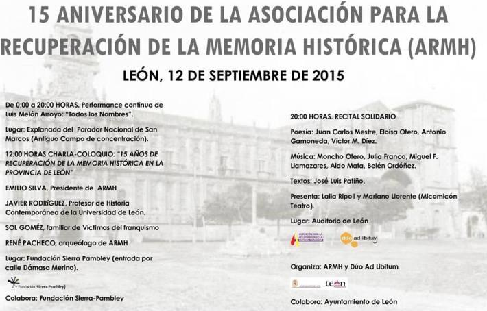 El programa del día 12 de septiembre.