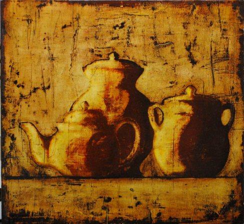 """""""Febrero del 71"""". © Pintura de Juan Carlos Uriarte."""