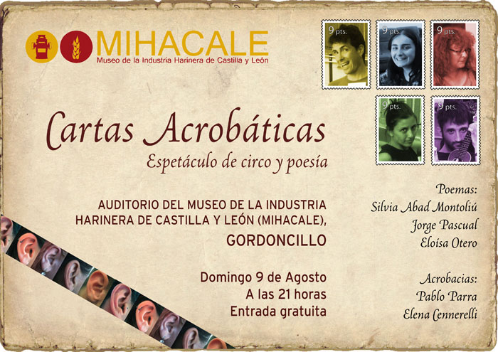 El cartel es obra del artista Juan Rafael (alias Rafa Murciego).