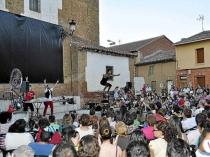 Imagen de Gordoncillo durante una de las pasadas ediciones del Festival Internacional de Payasos.