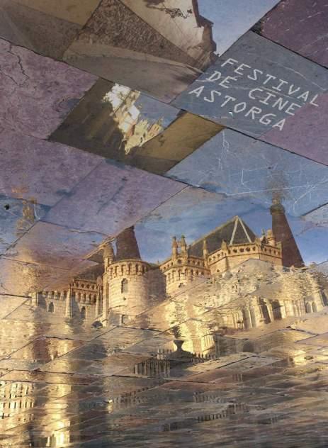 Cartel del Festival de Cine de Astorga 2015.