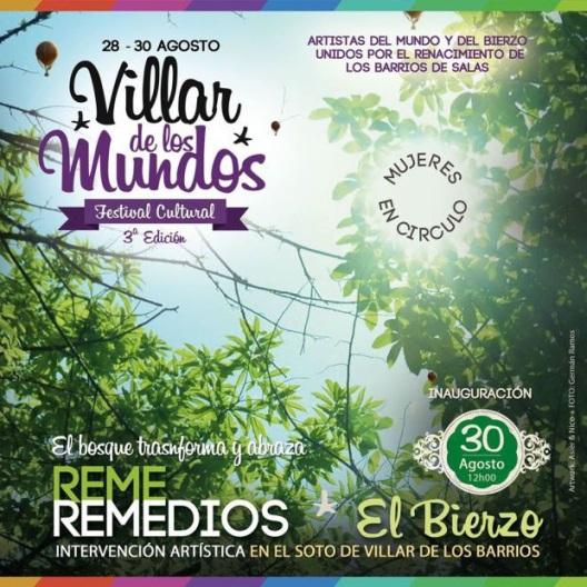 Festival Villar de los Mundos. El Bosque de los Mundos.