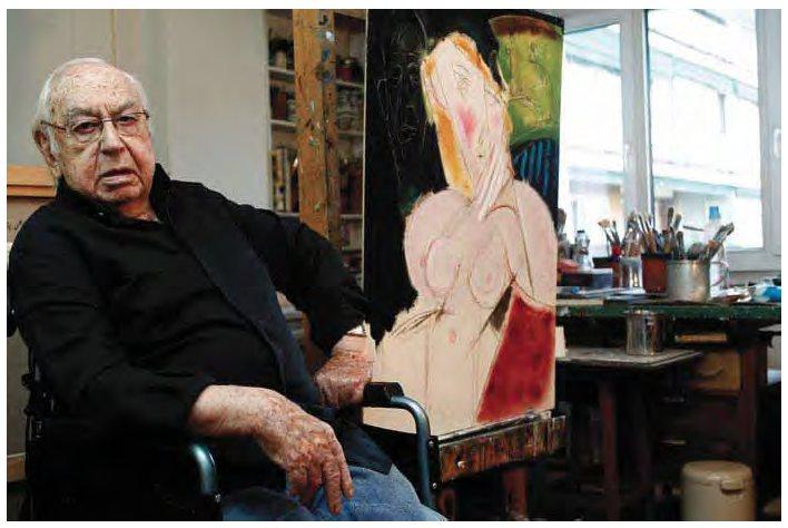 El pintor madrileño Álvaro Delgado.