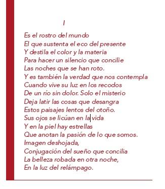 Poema de Adolfo Alonso Ares en el catálogo de Álvaro Delgado.