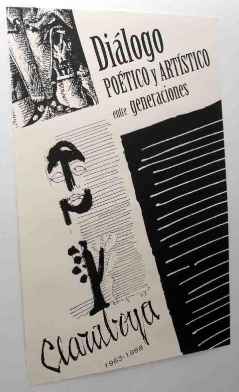 Cartel de la exposición sobre la revista Claraboya.