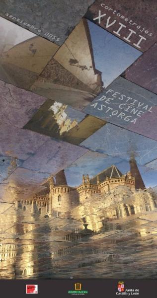 Cartel del XVIII Festival de Cine de Astorga.
