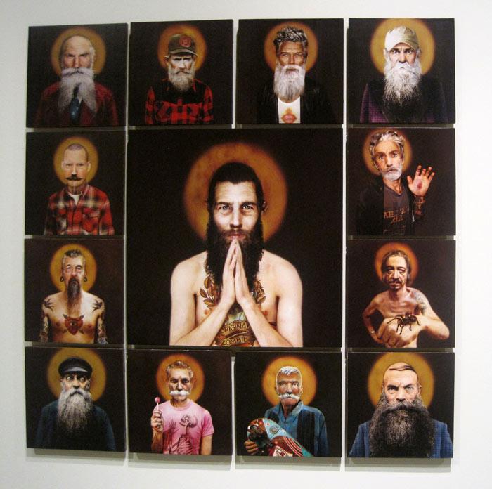 Obras del leonés Pablo García, de la serie Desideratum, 2010-2014.