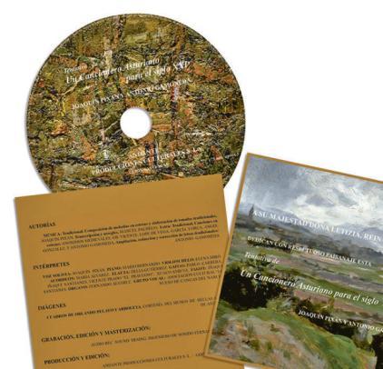 Imagen del libro-disco de Gamoneda y Pixán.