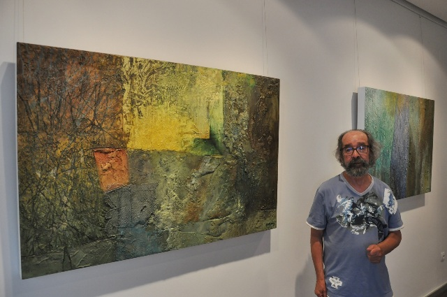 El artista salmantino José Portilla.