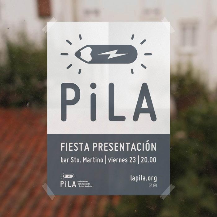 Cartel de la presentación de PiLA.