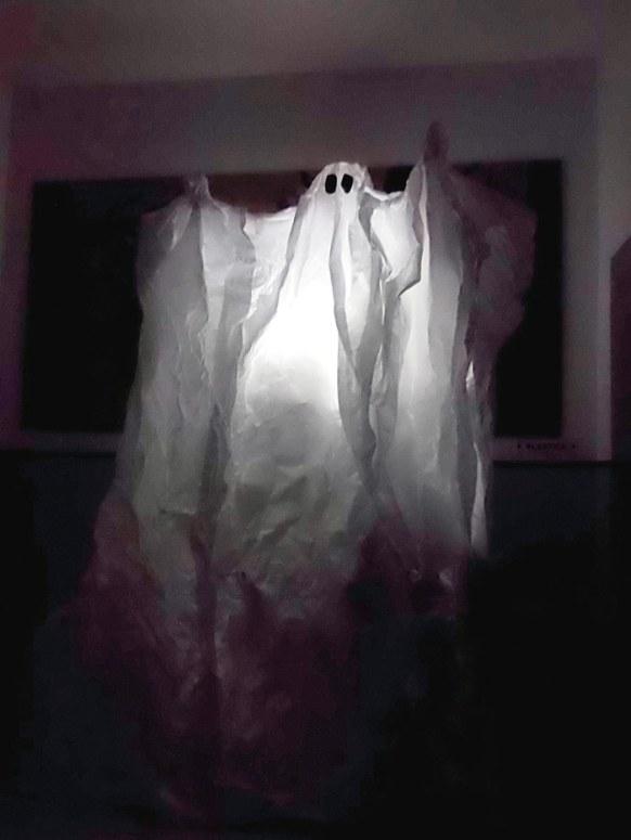 Fantasma realizado por los alumnos de 4º de ESO del Colegio marista San José (León).