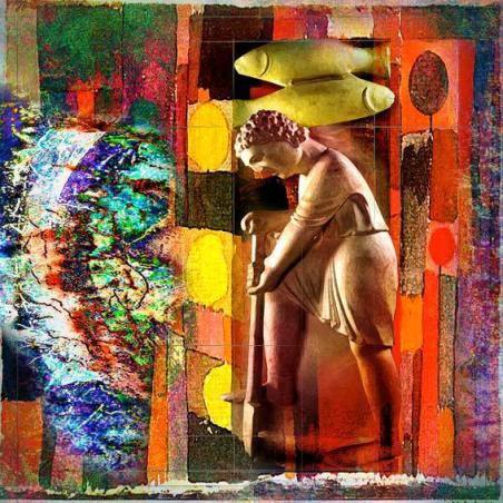 """""""Piscis"""". Una de las imágenes del """"Calendario Antelami"""". © Manuel Jular."""