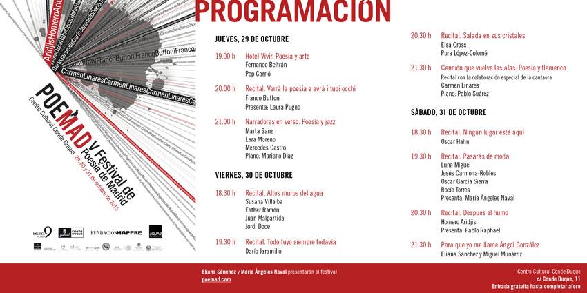El programa.