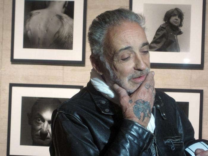 Alberto García-Alix en su exposición