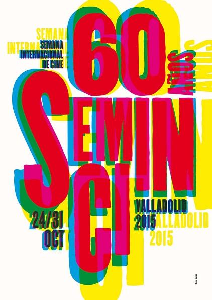 Cartel oficial de la 60ª edición, realizado por Oscar Mariné.