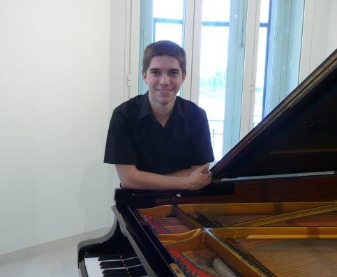 El pianista madrileño Carlos Marín Rayo.
