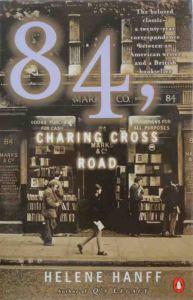Portada de 84, Charing Cross Road (Ed. Penguin), en la que aparece la famosa librería Marks&Co.