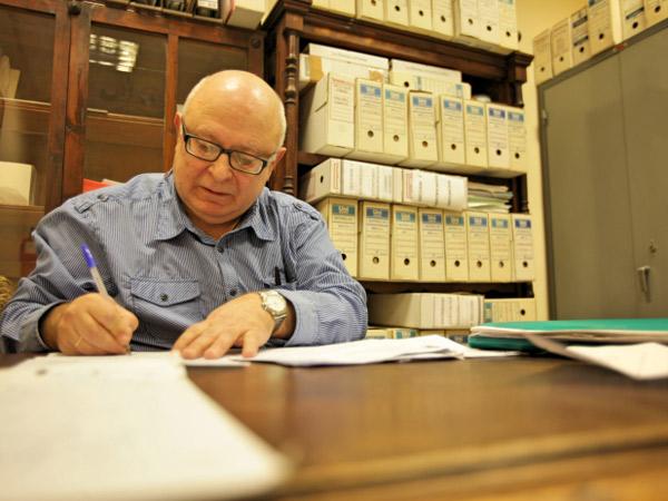 César, uno de los protagonistas del documental dirigido por Pepe Martínez.