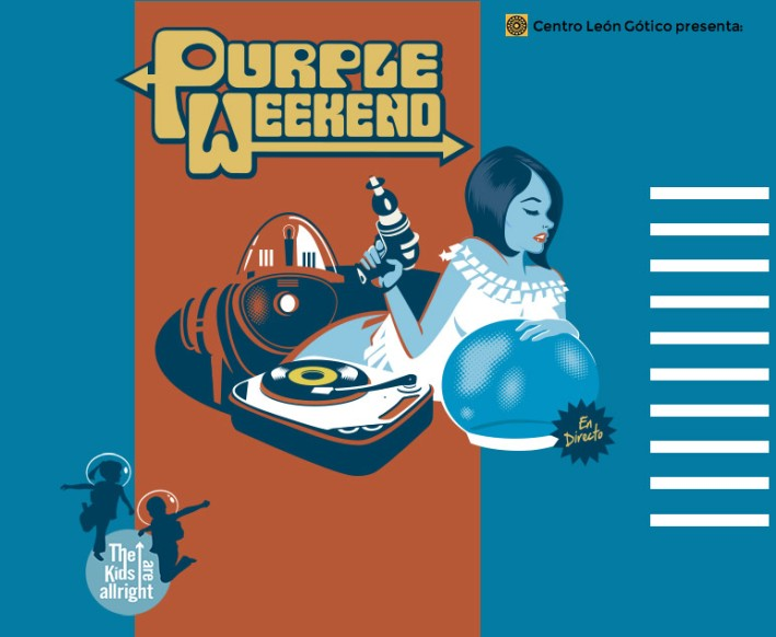 Cartel XXIV edicióndel Purple Weekend