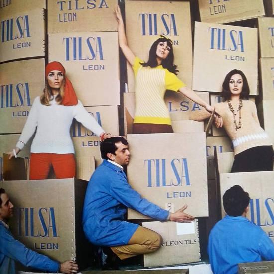 Imagen de los catálogos de Tilsa, realizada en los años 60-70 por Eugeni Forcano.