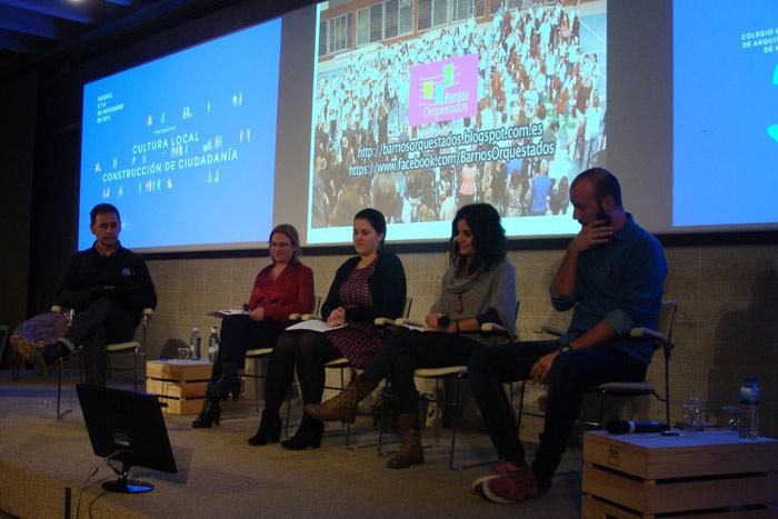 Presentación de los proyectos Barrios Orquestados, Danzan las Aulas y Kahinarte. Foto: L. Fraile.