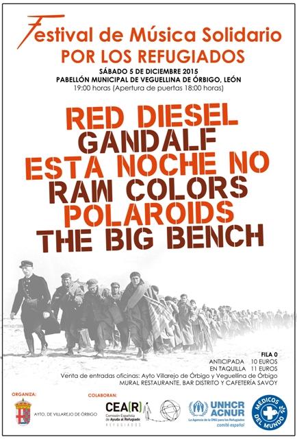 Cartel Festival Solidario.