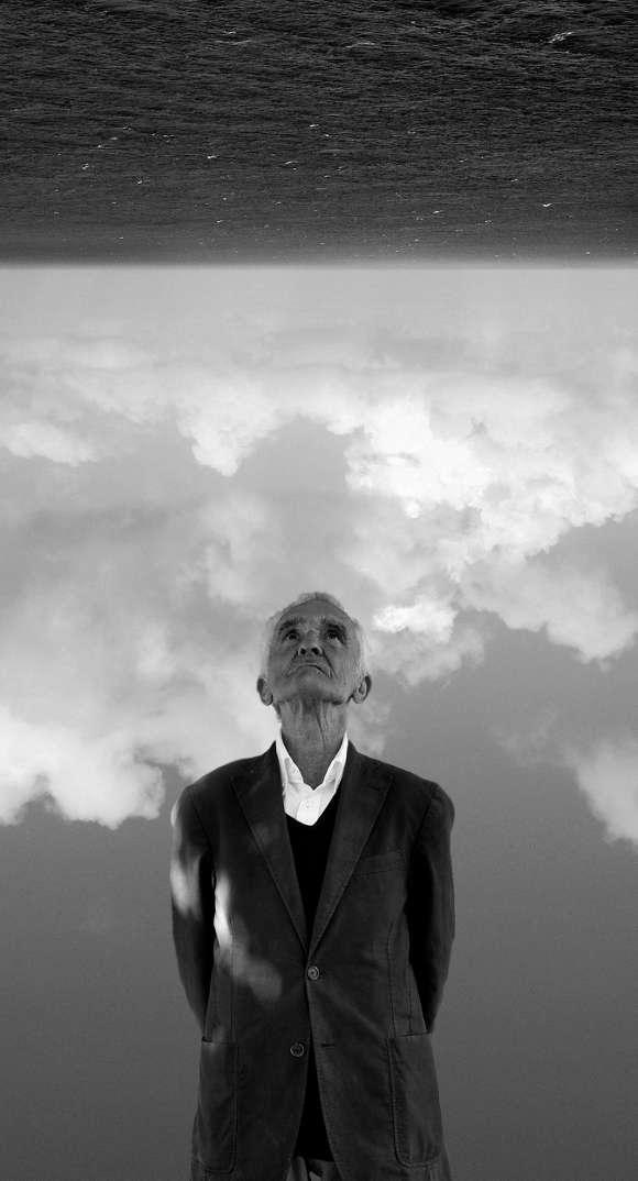 El poeta Carlos Oroza.