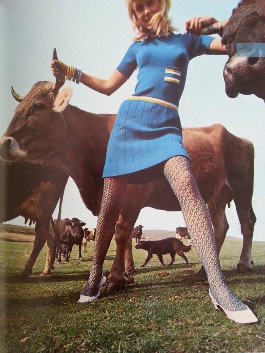 Una de las imágenes de los catálogos de Tilsa, realizada en los años 60-70 por Eugeni Forcano.