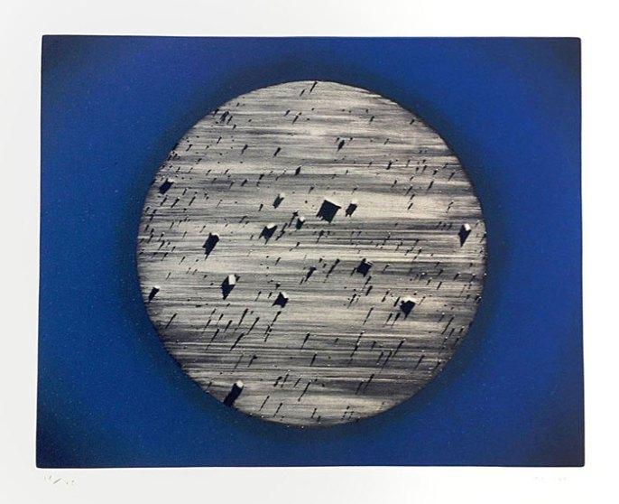 """Observatorio"" (1998). Aguatinta y manera negra, ed. 64 de 75. 1.200 euros (+ IVA)"