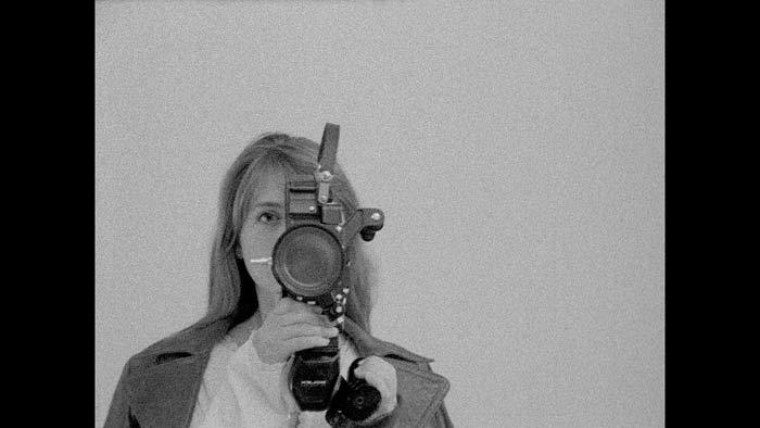 Fotograma de la película. Autorretrato de Leni K.