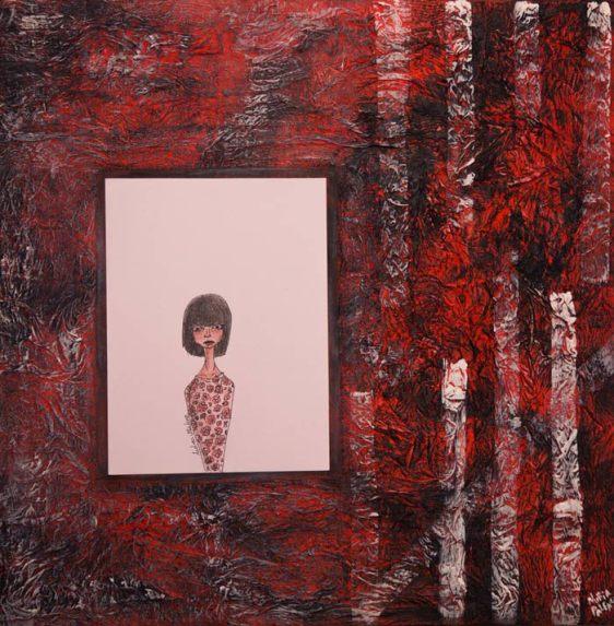 Una de las obras de Nuria Palencia y Andrea Villafañe Palencia.