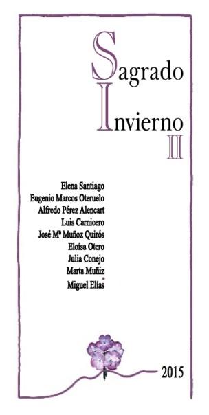 """Portadilla de """"Sagrado Invierno II""""."""