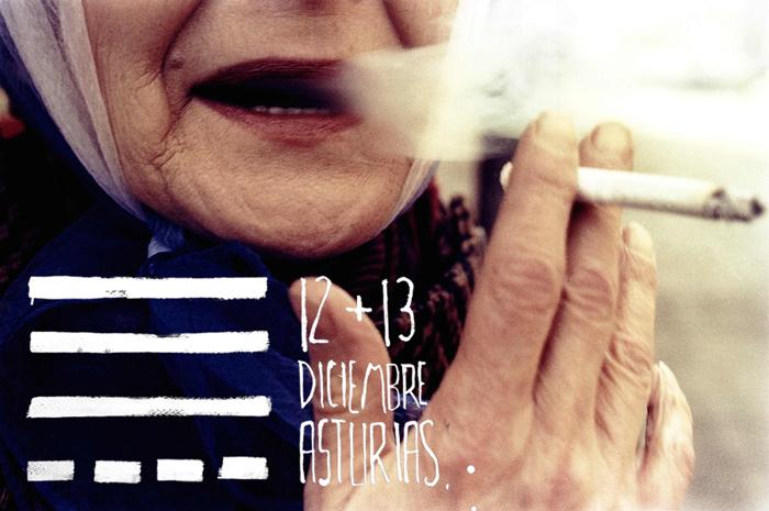 Cartel de TESLA, 12 + 13 de diciembre. Asturias. © Imagen: Eduardo Fandiño.