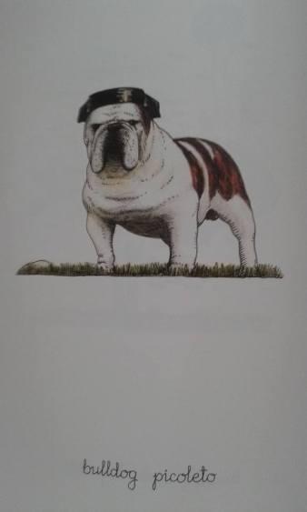 """Una de las ilustraciones del """"Bestiario"""" de Gerardo Vacas."""
