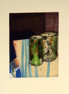 Obra de Isidro H. Valcuende donada para la rifa.