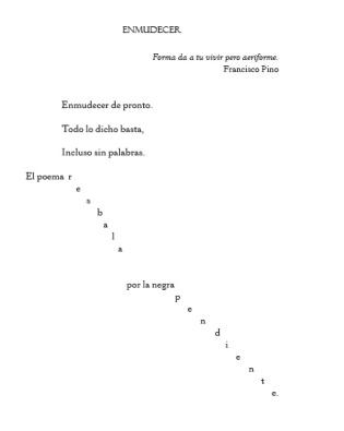 """Un poema del libro """"Incluso sin palabras·, de Javier Dámaso."""