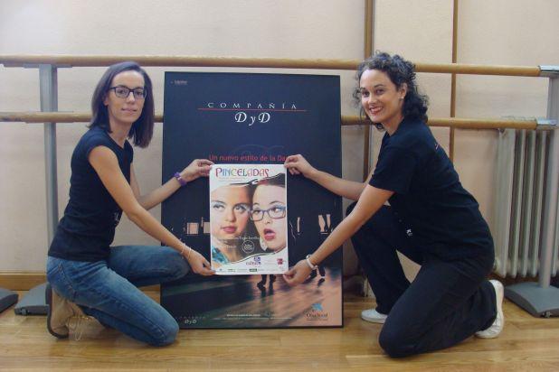 Mar González y María Tomillo, profesoras de la Escuela de Danza de Valladolid. Foto: L. Fraile