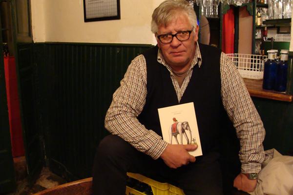 Gerardo Vacas, autor del libro `Bestiario´. Foto: L. Fraile.