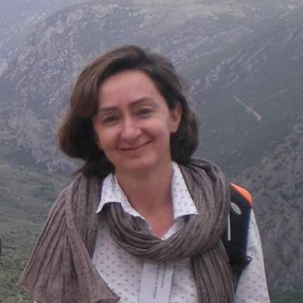 La profesora Marta González.