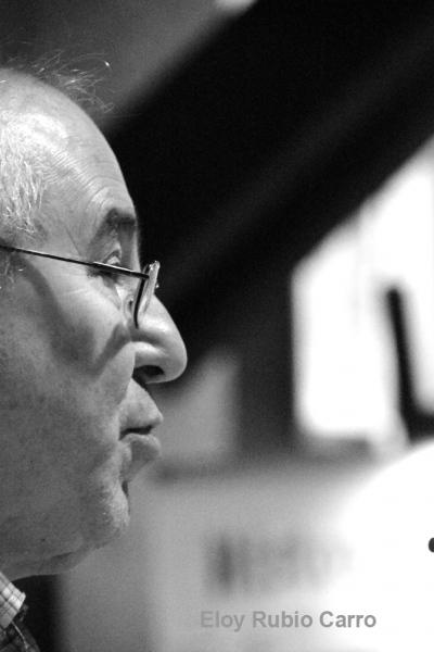 El escritor José Luis Puerto. © Fotografía: Eloy Rubio Carro.